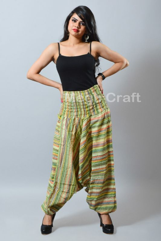 Stripe Yoga Harem Pants