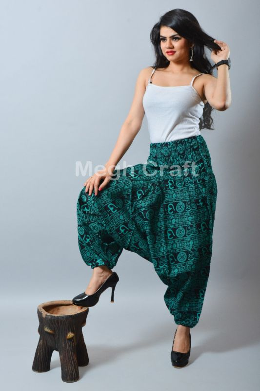Cotton Yoga Harem Pants