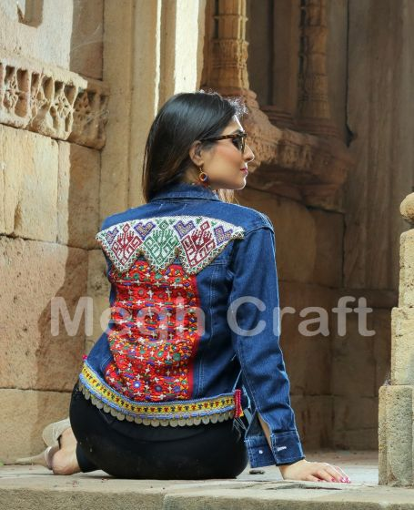 Bohemian Fashion Denim Jacket