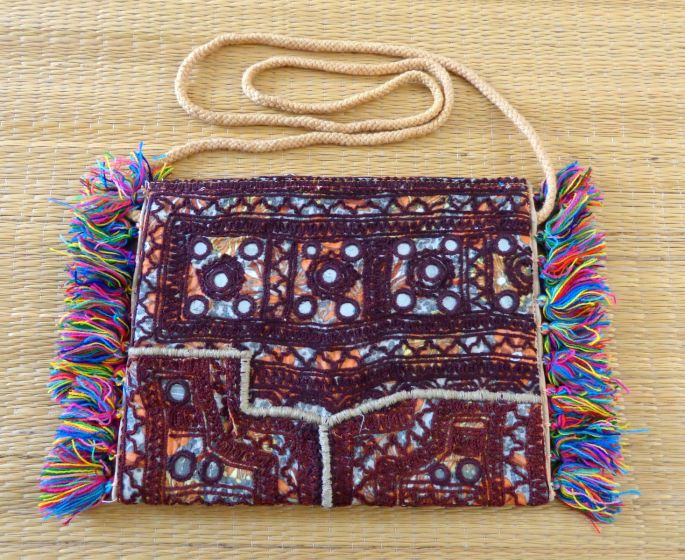 Balochi Embroidery Sling Bag