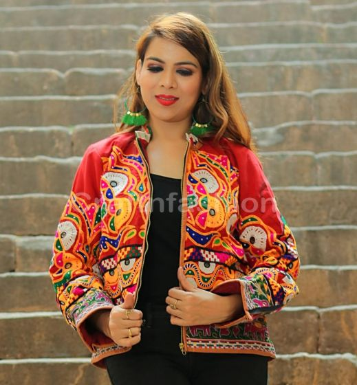 Boho Traditional Gujarati Jacket