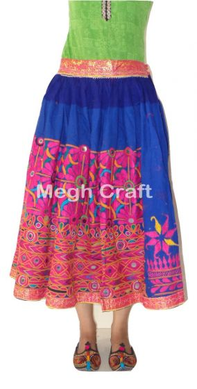 Boho Trible Hand Work Skirt