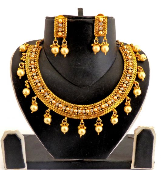 Indian Gold Plated Necklace