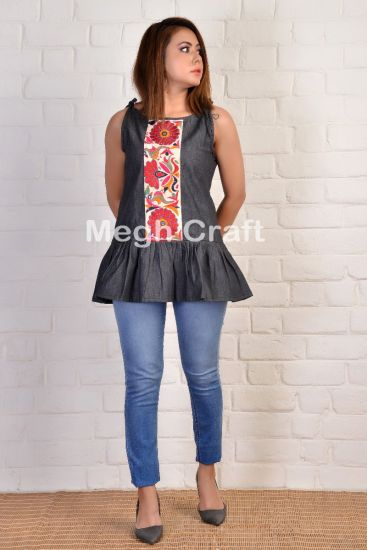 Indian Traditional Patchwork Top
