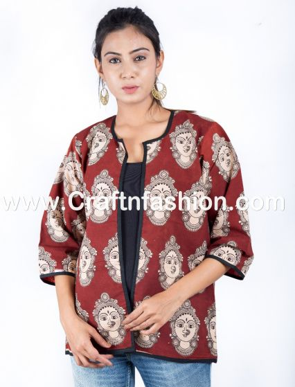 Boho Block print Cotton Jacket