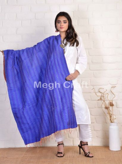 Indian Traditional Kantha Stole