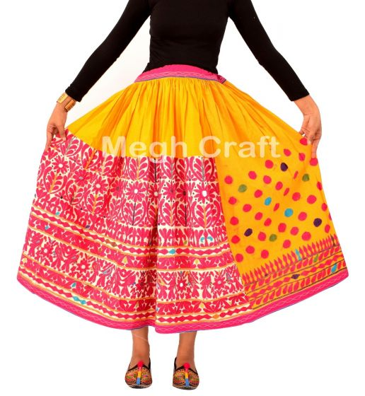 2020 USA Fashion embroidery skirt