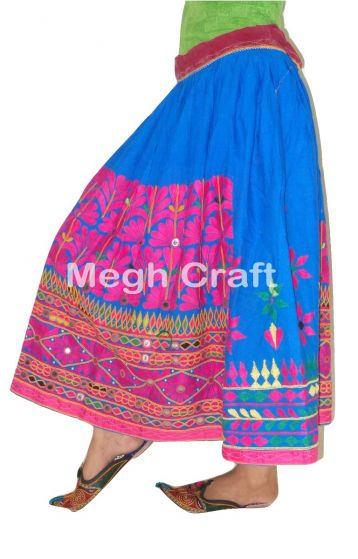 Indian Boho embroidery skirt