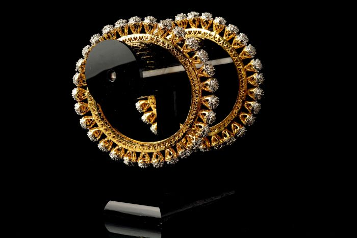 Bollywood Fashion Diamond Bangles
