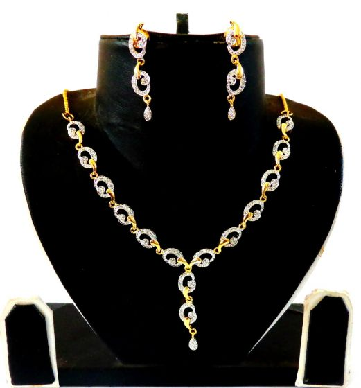 American Diamond Jewelry Set