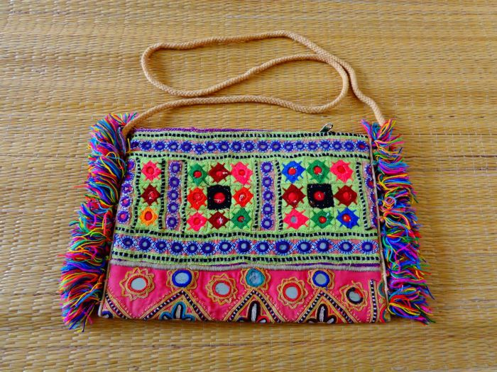 Boho Gypsy Coin Sling Bag
