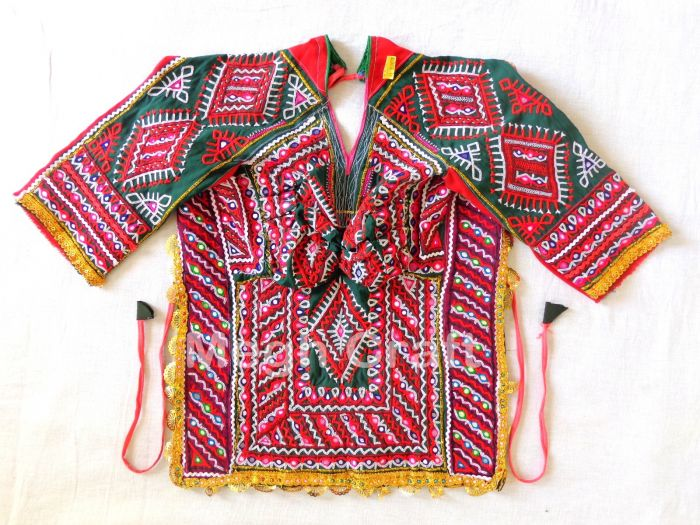 Authentic Mirror Work Blouse