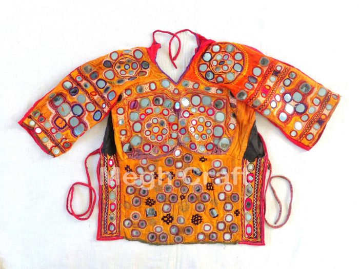 Vintage Mirror work Blouse