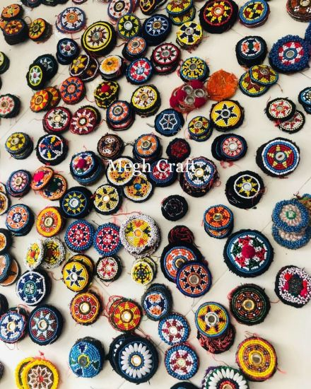 Vintage Gypsy Embellishment Patches