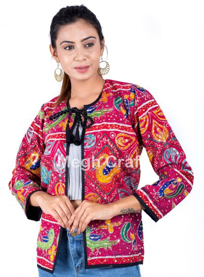 Zari Work Embroidery Jacket