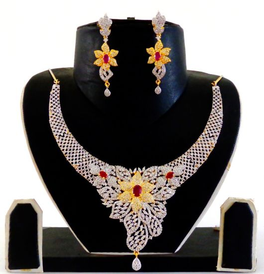 African Exclusive Diamond Necklace