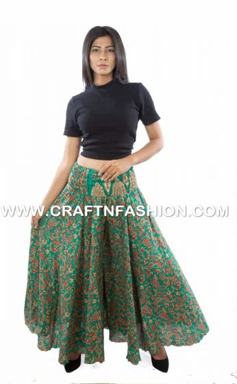 Indo Western Silk Trouser pant