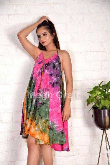 Party Wear Tie Dye Dress