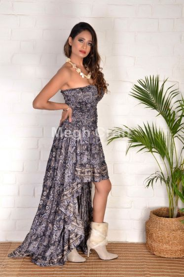 European Fashion Maxi Dress