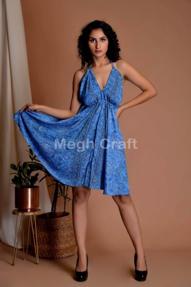 Beach Wear Halter Dress