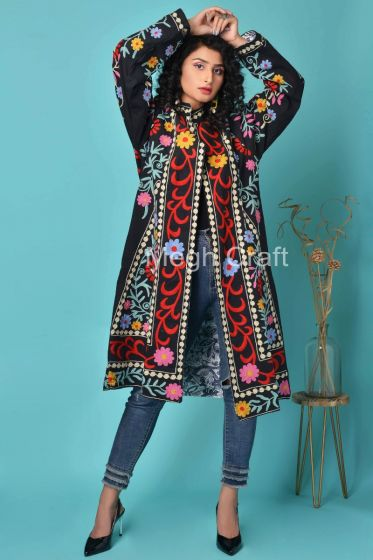 Exclusive Suzani Coat Jacket