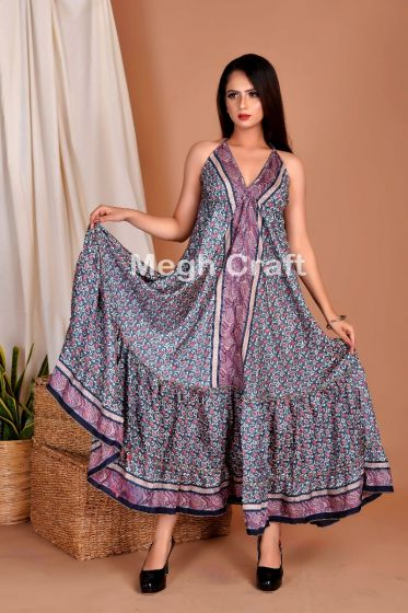 Ladies Boho Uno Maxi Dress