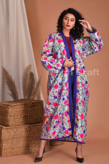 Beach Party Wear Silk Kimono