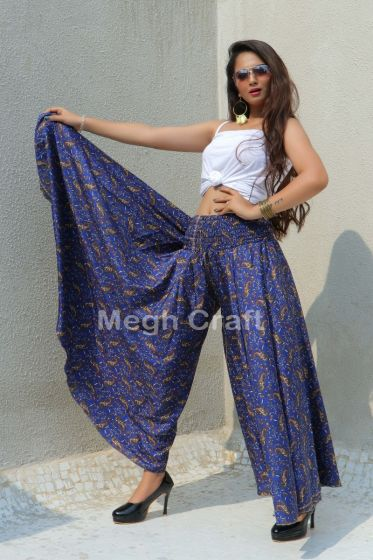 Exclusive Silk Palazzo Pant