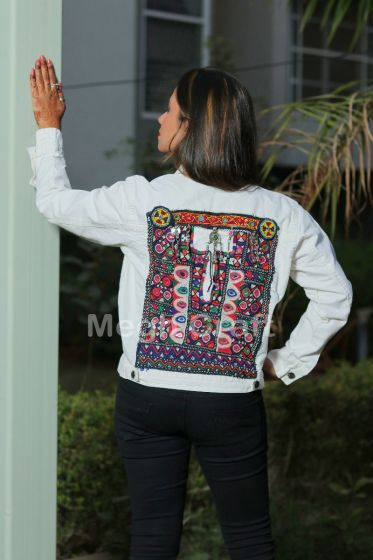 Boho Winter Fashion Denim  Jacket