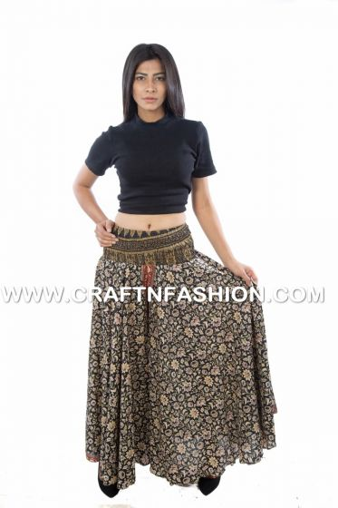 Black Tribal Women Trouser