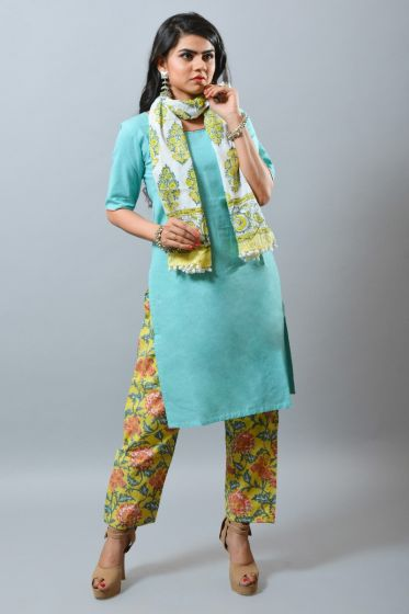 Khadi Cotton Long Kurti Tunic