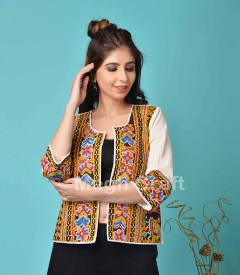 Traditional Embroidery Waist Coat